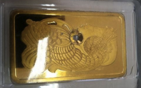 Fraudulent 10 oz Gold Bars Show Up In Manhattan